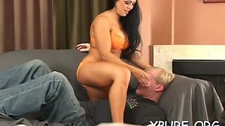 girl dominates her weak bf movie video 1