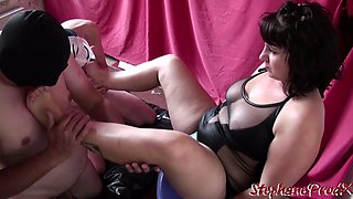 Mistress Syrial initiates 2 submissive at stephaneprodx