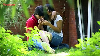 Bgrade Romance Lovers Caught In Park