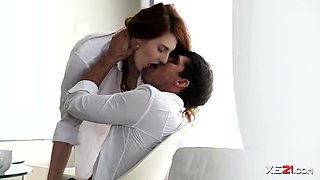 Romantic Gal Irina Pavlova in Anal Video