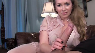 Busty mom jerk you off - Part2 on MilfHomeTv.com