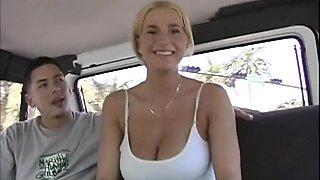 Boasting of sex skills in a car