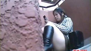 Jade Phi Upskirt Fart