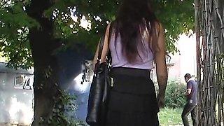 Innocent asian girl upskirt voyeur