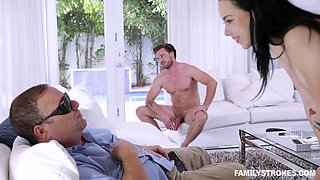 Nothing can satisfy Bambi Black like bouncing on a hard dick