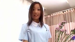 Exotic Japanese model Jun Kiyomi in Horny Nurse JAV movie
