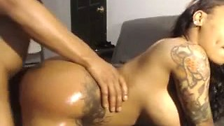 Smoking hot amateur girl boned hard doggy style in homemade sextape