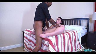 Slamming Thick White Girl with BBC