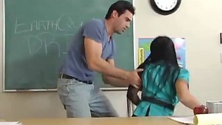 Teacher earth quake drill