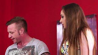 British Cfnm Beauties Giving Double Blowjob