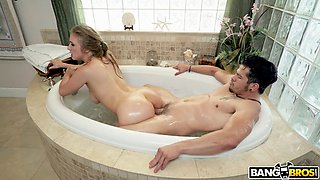 Lena paul getting fucked in the bathtub