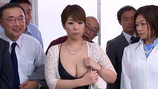 Hottest Japanese slut Nao Nazuki in Incredible Cougar, Big Tits JAV video