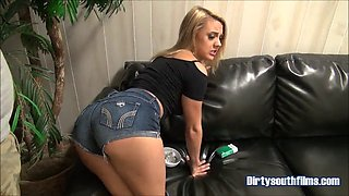Daughter smoking gets spanked pov
