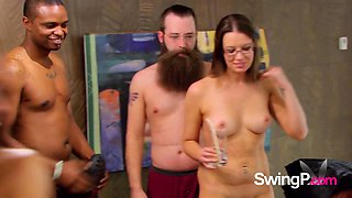 Couples experience an erotic adventure