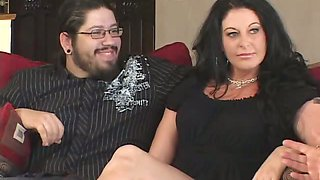 Brunette housewife Fucking