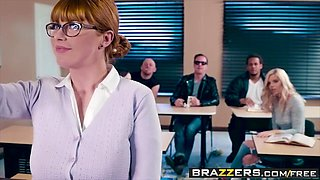 Brazzers - Big Tits at School - Penny Pax Jessy Jones - The Substitute Slut - Trailer preview