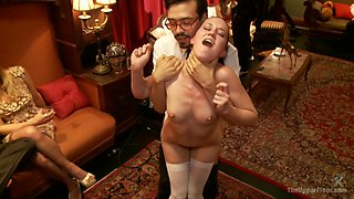 Mickey Mod & Bella Rossi & Casey Calvert & Owen Gray & Alani Pi in Masquerade Orgy With Nine Slaves,100 Horny Guests, Part Two - TheUpperFloor