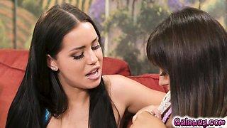 Alina trying everything to seduce Ella
