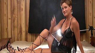 Incredible amateur Brunette, Fetish adult clip