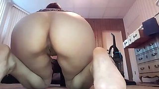 Horny sis hate anal! but bro forced fucked her on mom&#39s bed!