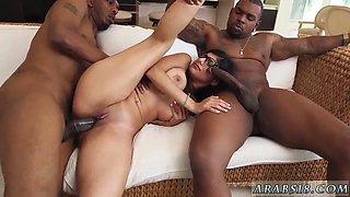 Muslim couple My Big Black Threesome