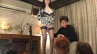 Amazing homemade JAV Uncensored, Blowjob adult clip
