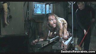 Extreme Freak BDSM Cleaning Humiliation!