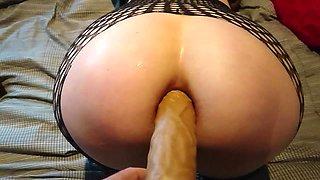 Anal perfect dildo gape