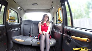 Cute slut is re for some backseat banging