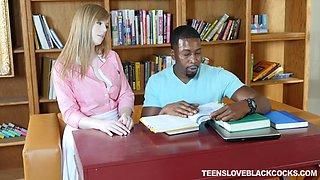 schoolgirl dolly leigh seduces her black teacher