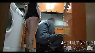 Real!Spy camera mom seduces plumber