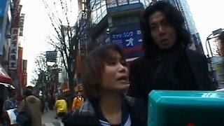 sexy public flashing amateur asian clip 2