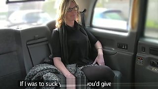 Busty spex Britt pussyfucked by taxi driver
