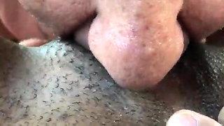 Eating an 18 year old ebony big clit