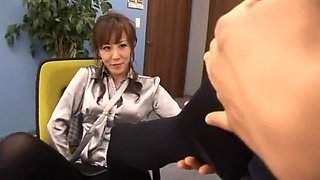 Crazy Japanese whore Honami Takasaka in Fabulous Foot Fetish, Foot Job JAV scene