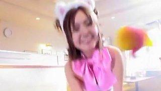 Best Japanese whore Aya Takahara in Hottest Toys JAV clip