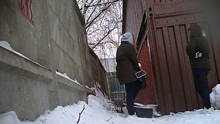 winter toilet