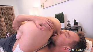lauren phillips and van have fun in 69 pose