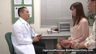 Asian Couple In Fertility Clinic Doctor Creampie Wife