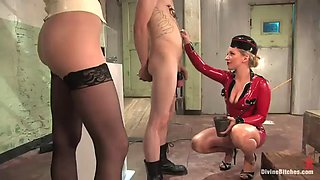 hot mistress has her way with her slave