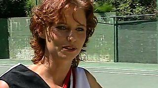 Redhead Czech amateur fucking outdoor