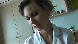 creampie nurse in pantyhose pov