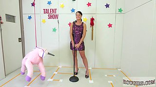 Girl dominates female xxx Talent Ho