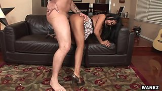 Priya Rai and her stud Justin Syder worships her pussy with his mouth