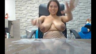 Foutain milk breast