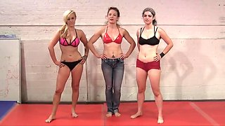 Hairy armpits female wrestling