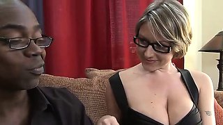 Enchanting teacher likes spicing up her raunchy moments