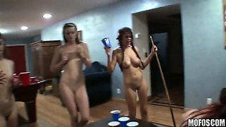 Naked Drunk Sluts Turn This Party Into a Fuck Fest