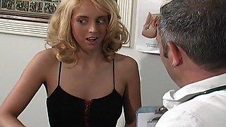 Blond Milf Takes on Robotic Fuck Machine