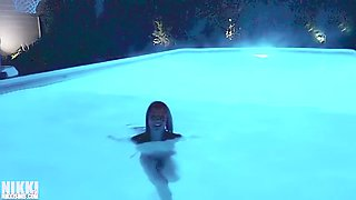 nikki sims night vision enhanced skinny dip